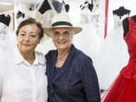 Unioni civili, Lidia e Laura spose in smoking bianco a 70 anni