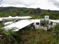Rieti, precipita un Cessna Feriti ma salvi i due piloti