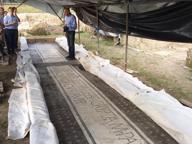 Terme di Aquinum, alla luce nuovi tesori: un mosaico e un'iscrizione