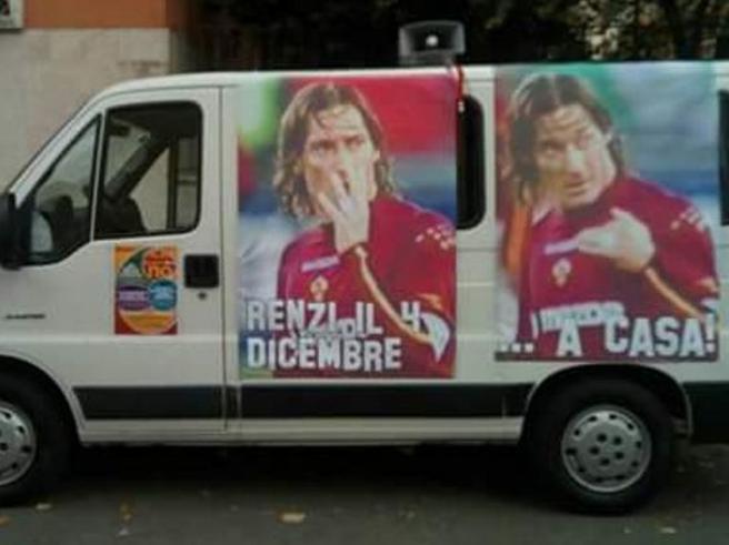 Totti: «Basta usare la mia immagine per il No al voto di domenica»