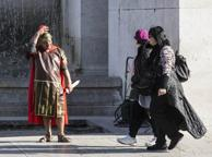 Colosseo, il ritorno dei centurioni «Siamo puliti, mai una denuncia»