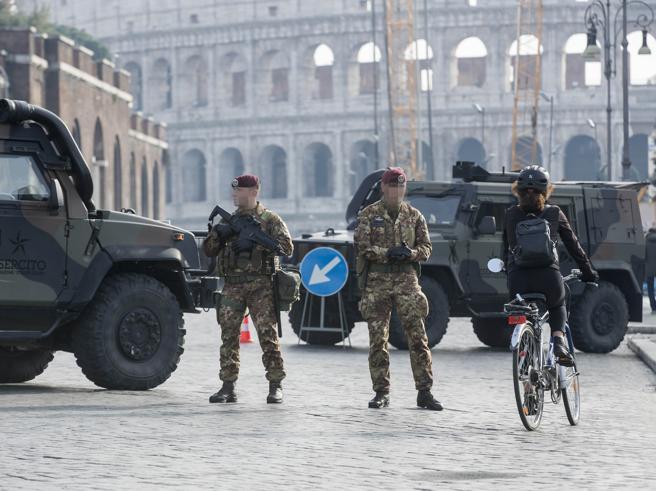 Capodanno, maxi controlli a Colosseo e Circo Massimo