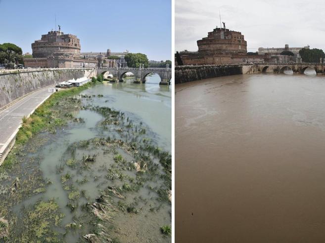Siccità a Roma, 48 ore per evitare   il razionamento|Sui siti stranieriBocca: l'allarme allontana i turisti