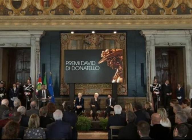 David di Donatello, la presentazione dei candidati al Quirinale