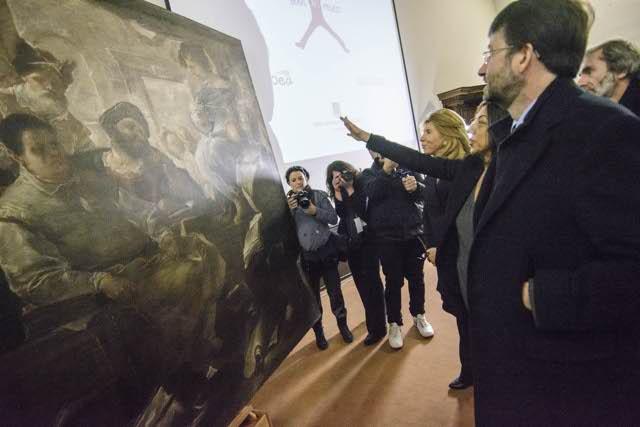 Scuola Di Restauro Roma.Il Liceo Visconti Festeggia Il Restauro Del Quadro Di Luca Giordano