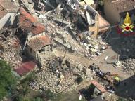 Terremoto: ecco Amatrice vista dall'alto