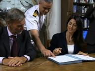 Grab, Delrio e Raggi firmano il protocollo per la ciclovia turistica