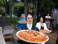 Alla Moschea l'amatriciana solidale halal: «Senza maiale ma col bue»