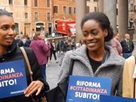 Seconde generazioni, flash mob: «Cittadini di fatto, fantasmi per legge»