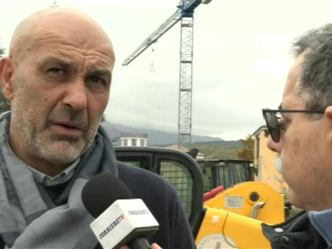 Il sindaco di Amatrice: «A Pasqua comincerà la rinascita» Video