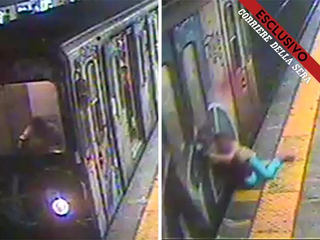 Roma, i video della donna trascinata dal vagone della metro B mentre il macchinista mangia in cabina
