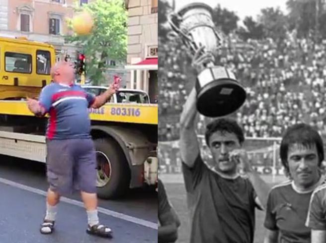 Dalla semifinale   Uefa ai palleggi ai semafori : storia di «Negroro»