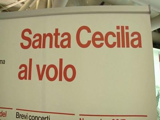 Fiumicino, Pappano dirige l'orchestra di Santa Cecilia in partenza per New York