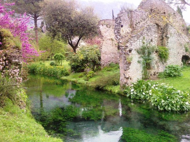 Oasi di ninfa nelle acque del fiume torna la trota - I giardini di alice latina lt ...