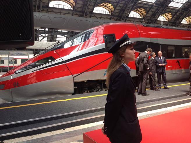 Roma milano in 2 ore e 20 viaggio sul nuovo for Ba cabina di prima classe